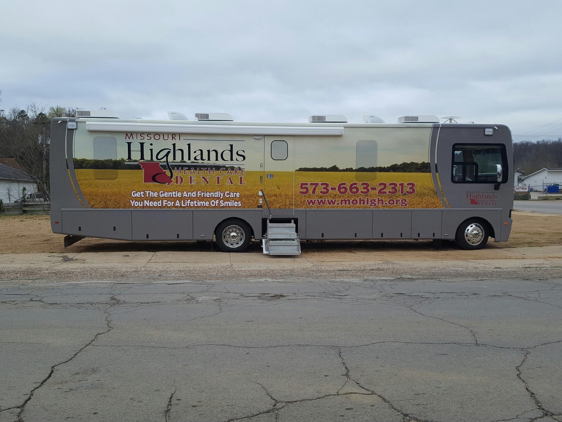 MHHC's Mobile Dental Unit - Missouri Highlands Health Care